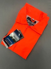 LOW14 Orange Hi Vis Rain Jacket