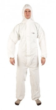 Ultimate White Type 5 and 6 Coverall